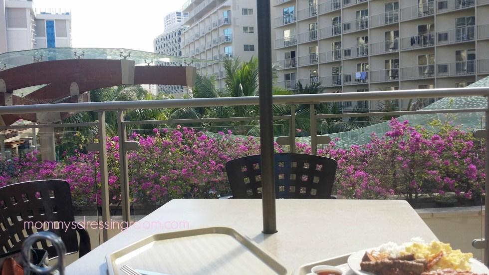 Breakfast at the Embassy Suites Waikiki