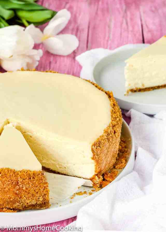 This Recipe Makes The Best Eggless Cheesecake You Will Ever Try It S Wonderfully Creamy And