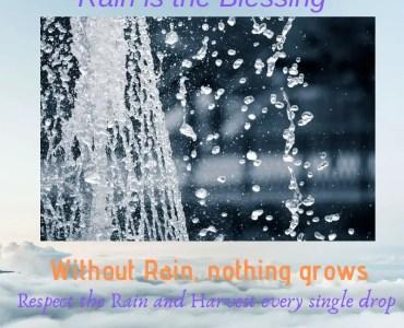 Rainwater Harvesting, Need of the Hour