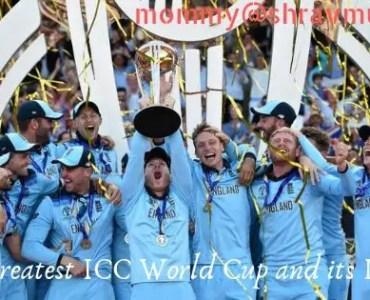 ICC World Cup Lessons, shravmusings, ICC World Cup, Cricket Lessons, Life Lessons from Cricket