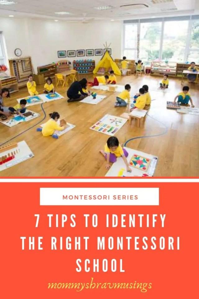 Montessori, Montessori Method, Early Childhood Education, Alternate Education, Right Montessori School, shravmusings