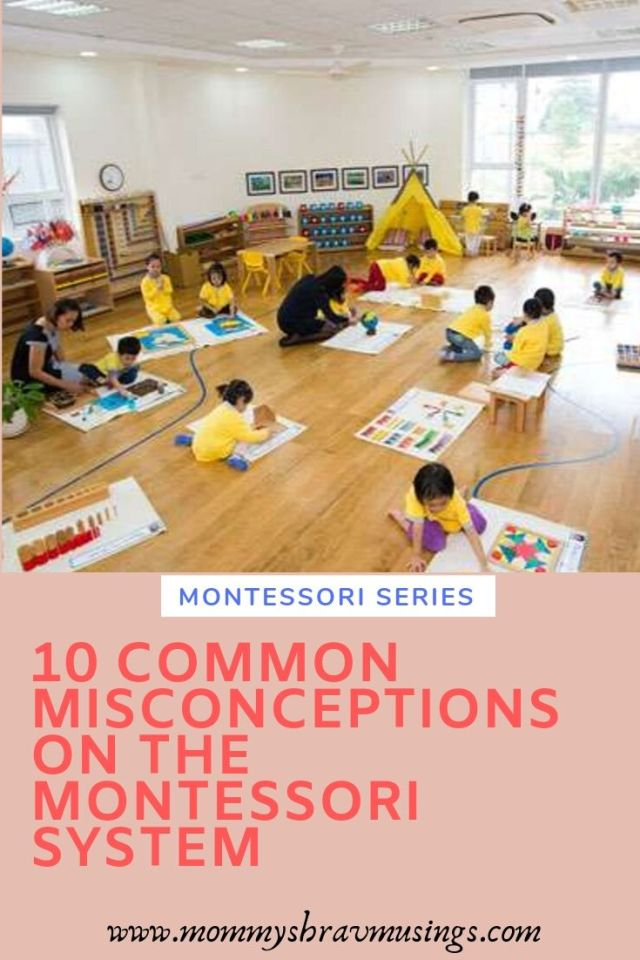 Misconceptions on Montessori, Montessori Method, Montessori System, Early Childhood, Alternative Education