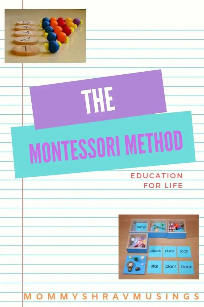 Montessori Method, Alternative Education, Early Childhood Education, Educational Methods, shravmusingswrites, Montessori