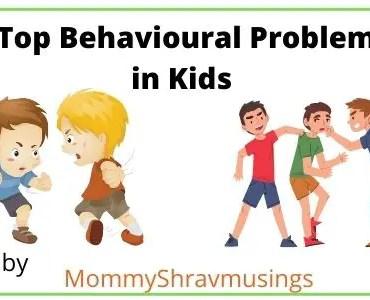 Common Behavioral Problems in Kids