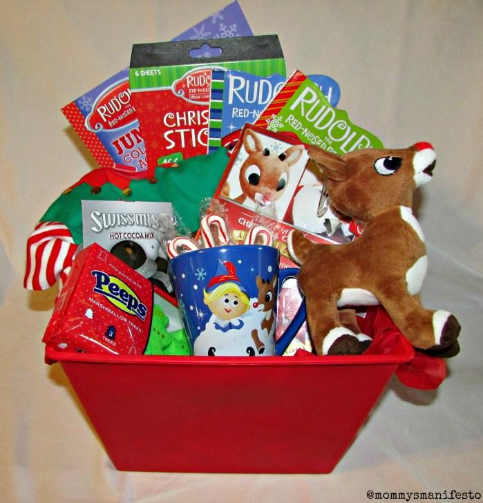 Christmas Gift Basket for Kids