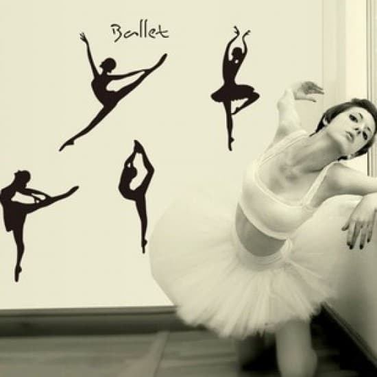 Ballerina Vinyl Wall Art Decal