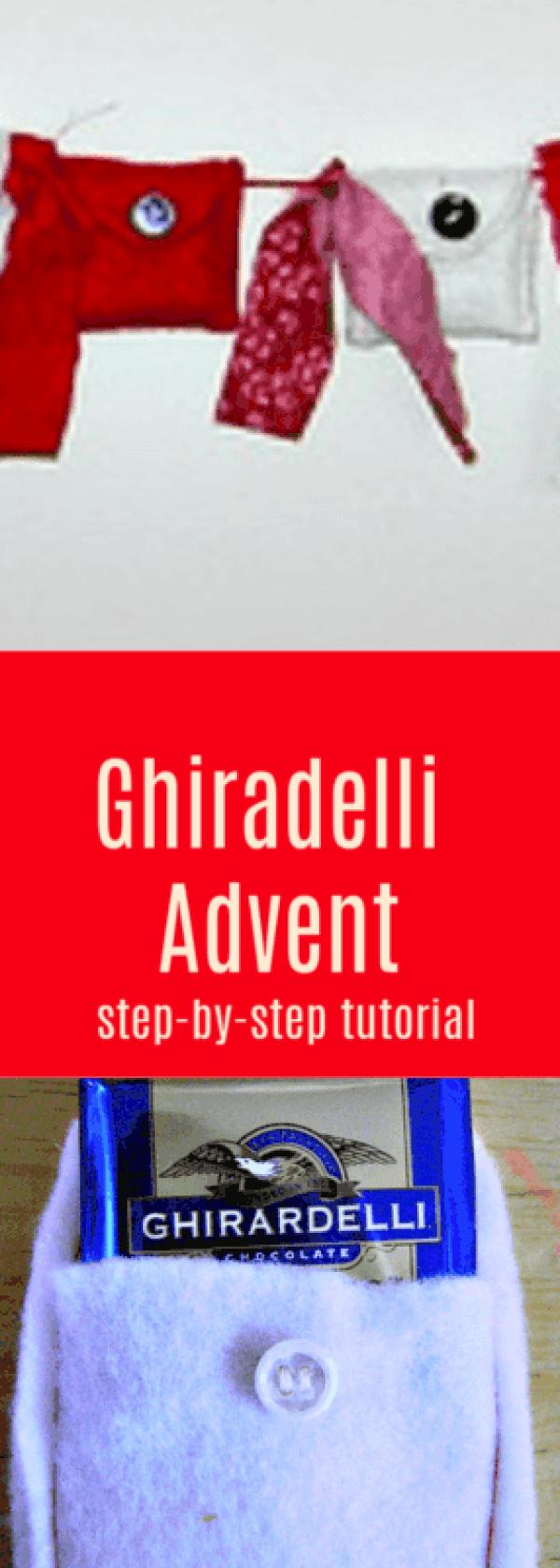 easy ghiradelli advent