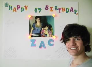 zac birthday