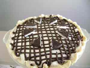 Inside Out Peppermint Patty Pie Recipe #RecipeShare