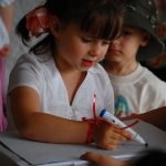 child drawing, guest post, educational activities