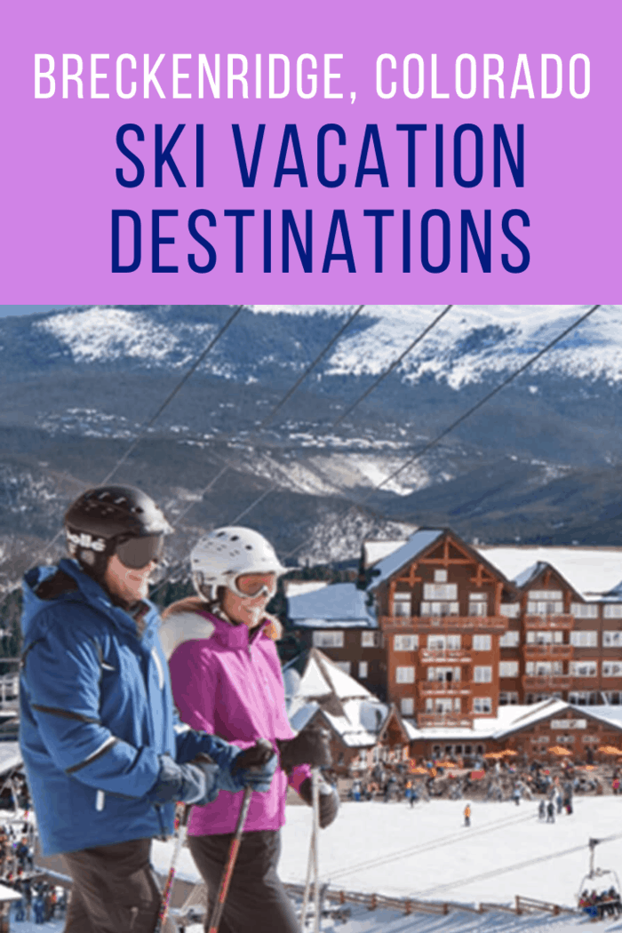 As a place known for providing top-notch lessons for the ski novice, one of the (other) things that visitors seem to enjoy most about Breckenridge is where it's located.