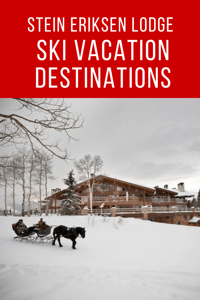 The skiing is considered some of the best in the world and for the nights you want to stay closer to dry land, there are horse-drawn carriage rides to add to the ambiance.
