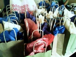 Fun Gift Bags for children