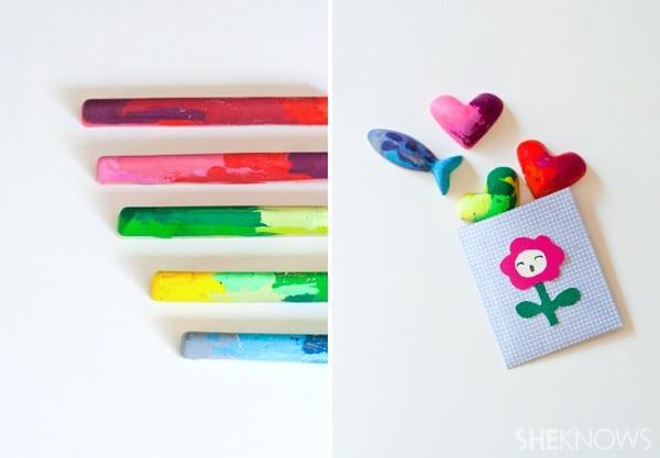 Fun DIY: Old Crayons, New Craft