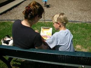 talking to kid