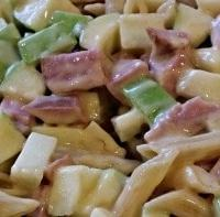 kielbasa apple pasta bake recipe