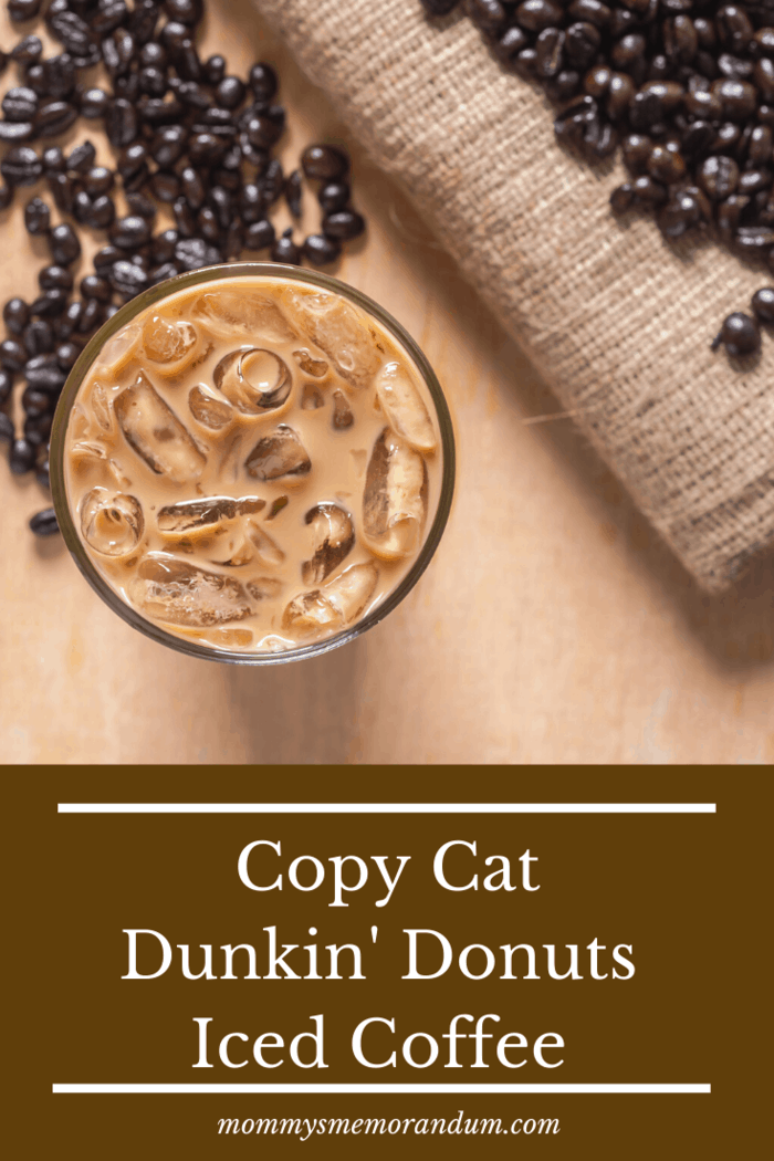 Switch gears as the heat climbs and brew yourself your favorite flavor of Dunkin' Donuts coffee and turn that mug into a tall tumbler of iced coffee!