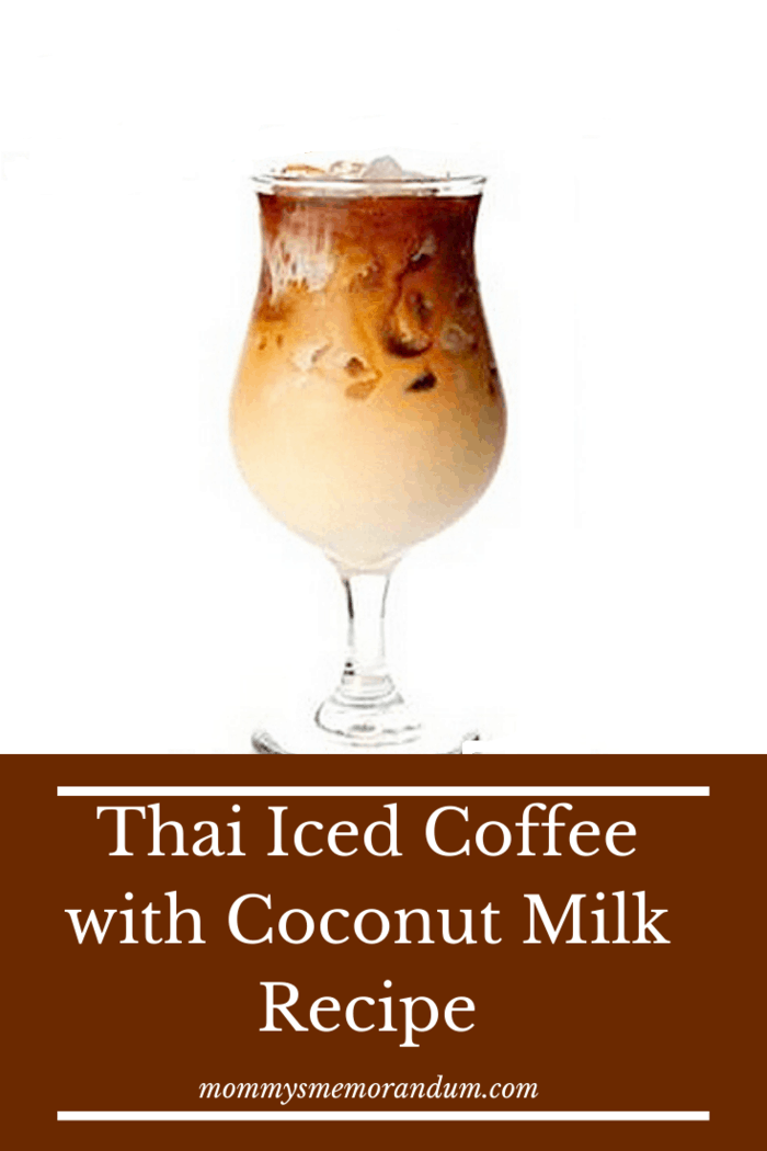 This Thai Iced Coffee recipe with Coconut Milke recipe combines my love for espresso with a taste of the tropics in coconut milk.