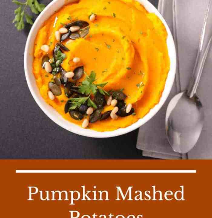 If desired, spoon mashed potatoes into Miniature Pumpkin Bowls and garnish with sage leaves.