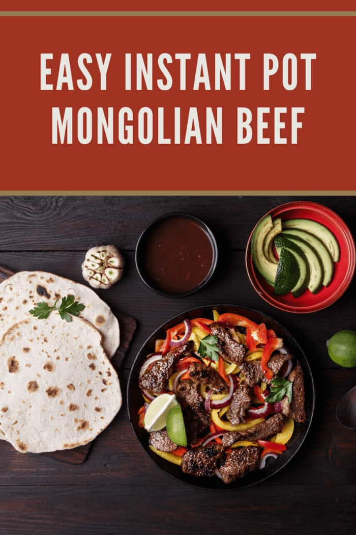 With the flavors of Asian food this Instant Pot Mongolian Beef Recipe is so easy and satisfies the cravings.