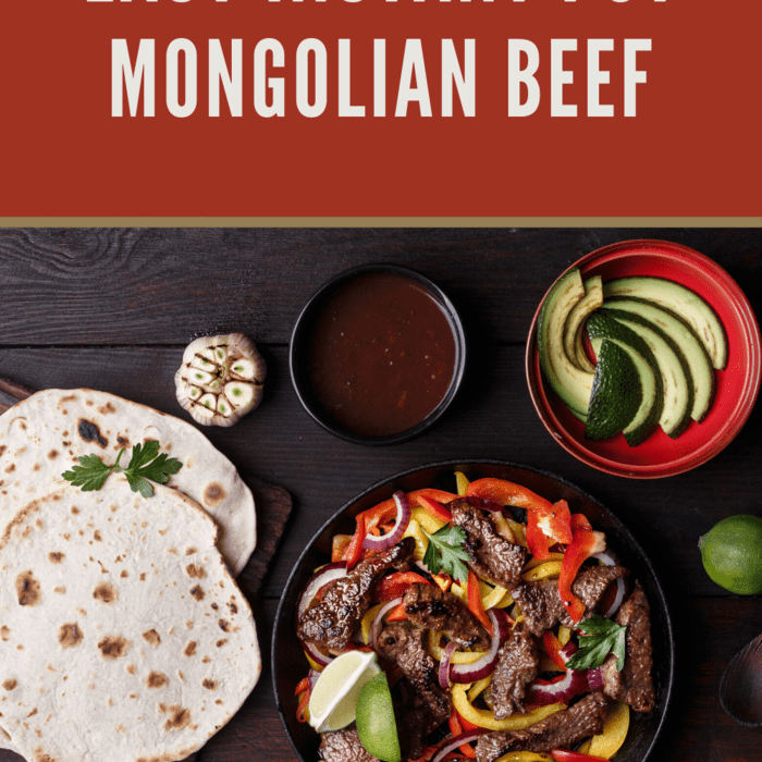 Easy Instant Pot Mongolian Beef Recipe