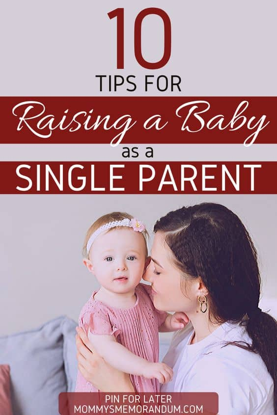 raising a baby as a single parent