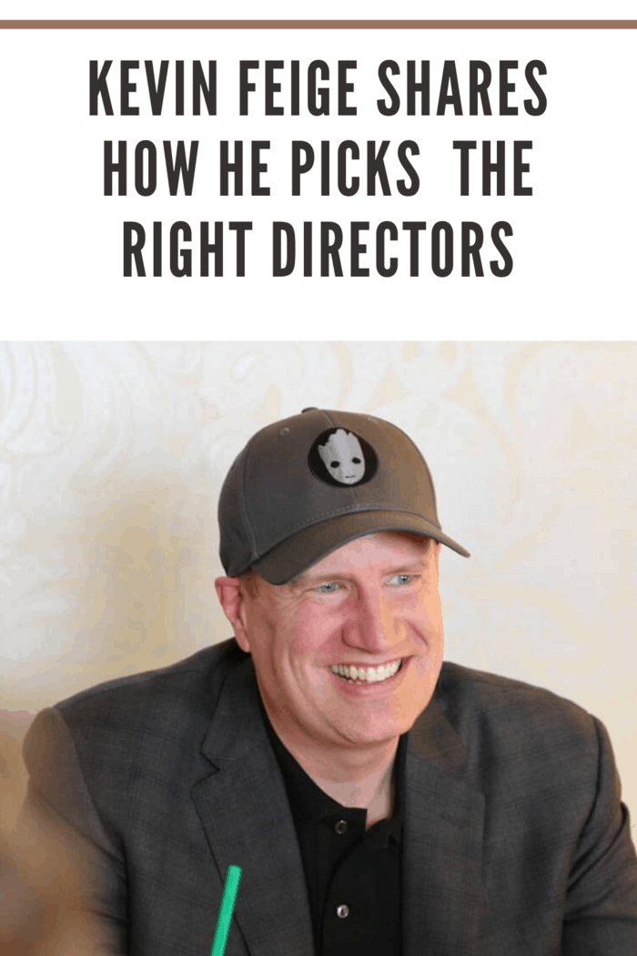 Kevin Feige, President of Marvel, during interview at London West Hollywood