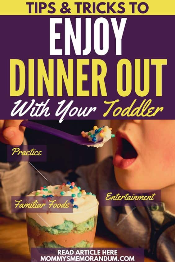 Fortunately, there are a few simple tricks any parent can learn that will make your next dining experience fun for everyone.
