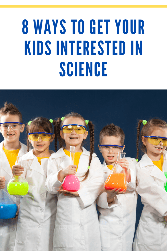 Getting your kids interested in science opens up a world of possibilities for them.