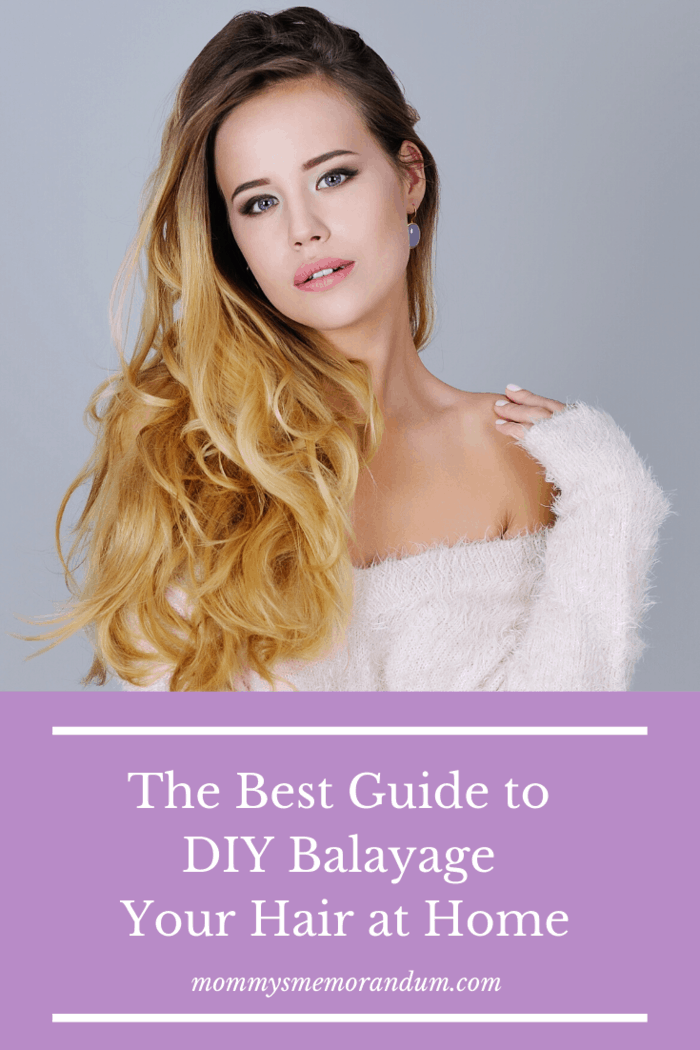 This super-easy guide will walk you through the DIY Balayage your hair at home.