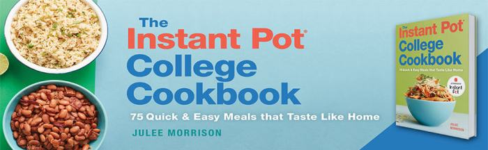 instant pot cookbook banner