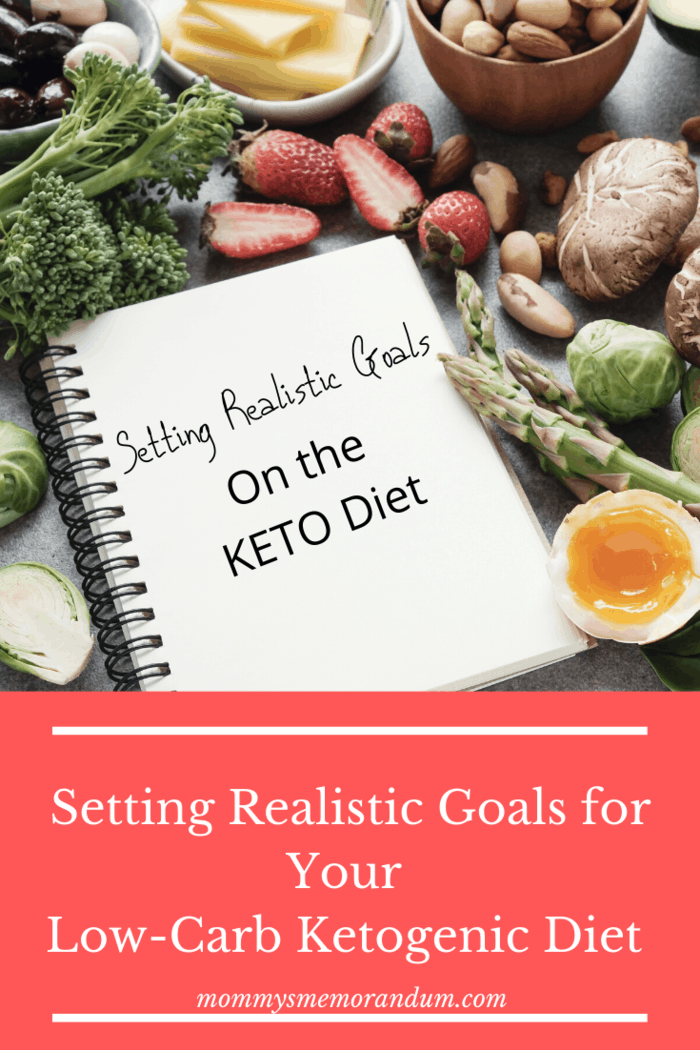 succeed with Keto: Goals will help you stay focused on your weight loss journey, and help you transition to this diet that when you set goals, it is challenging for you to lose track along the way.