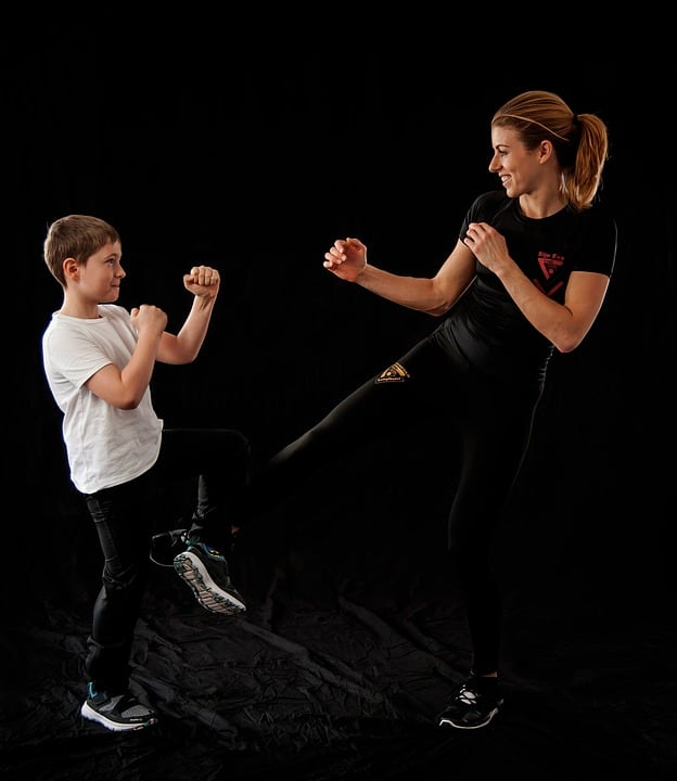 kickboxing for the whole family
