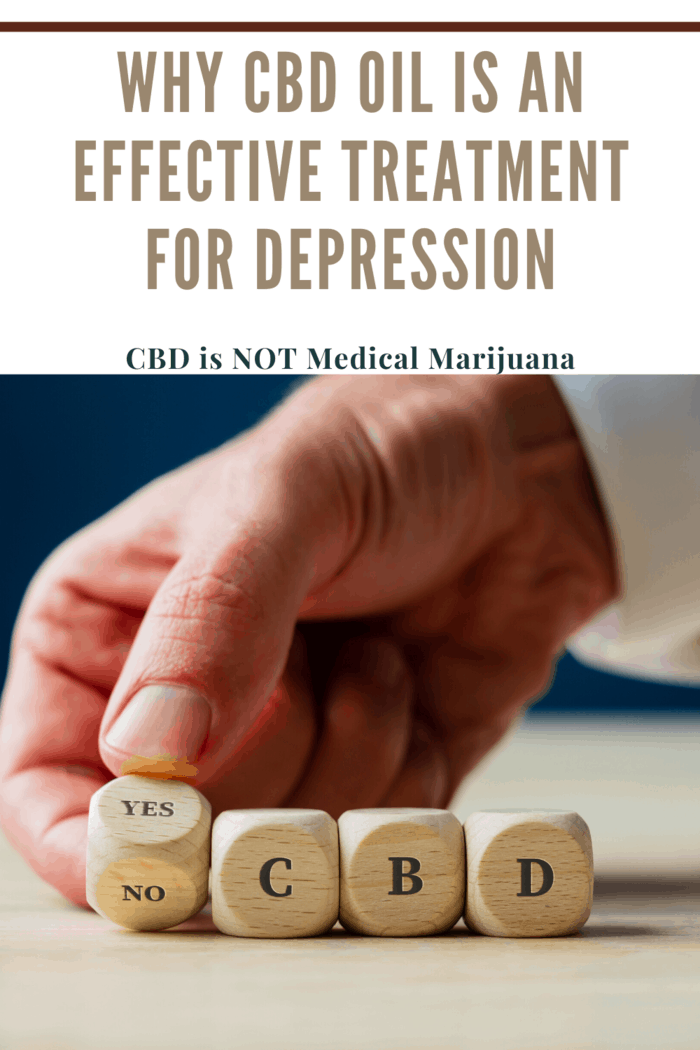 Why CBD Oil Is an Effective Treatment for Depression