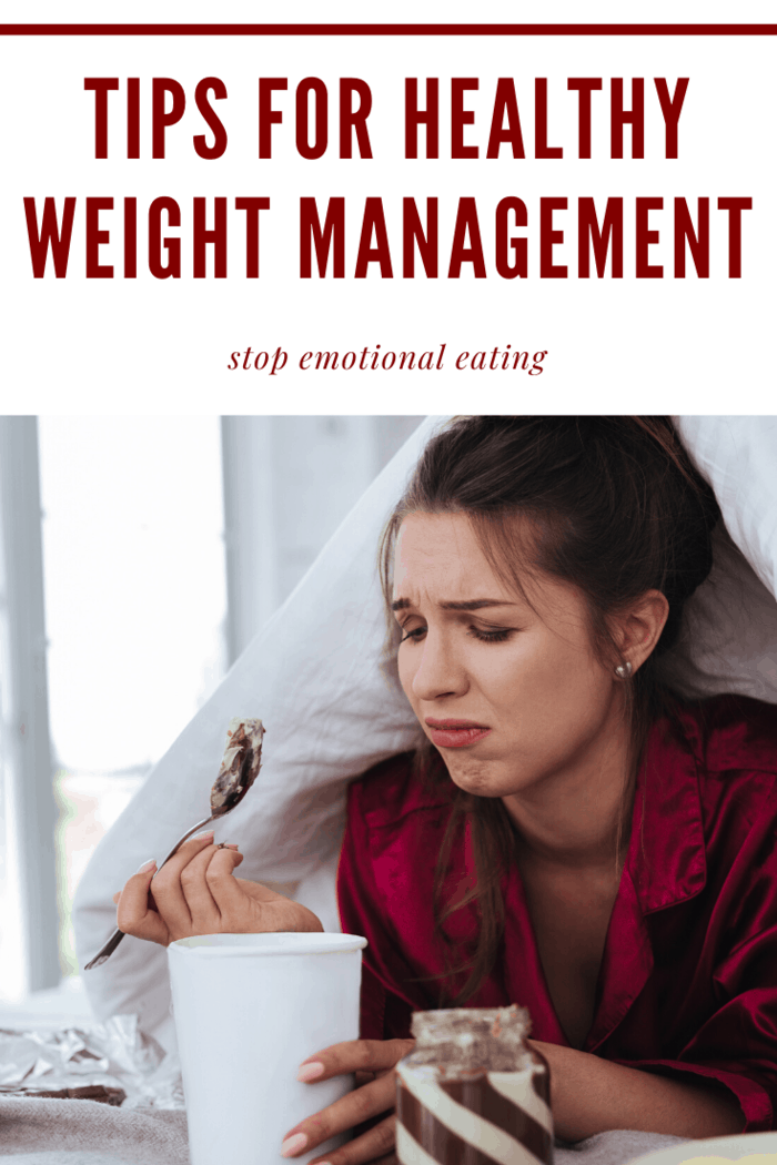 emotional eating will keep you from healthy weight management