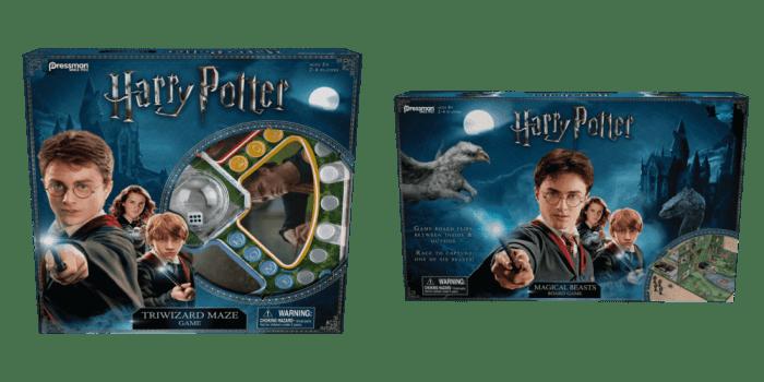 harry potter board games
