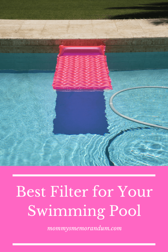 The pool filters are responsible for removing debris and dirt
