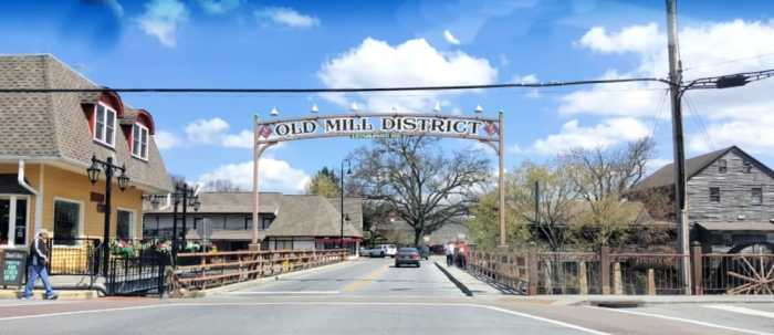 old mill historic district