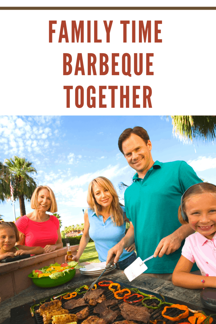 Have you ever tried having a barbeque night with your kids?