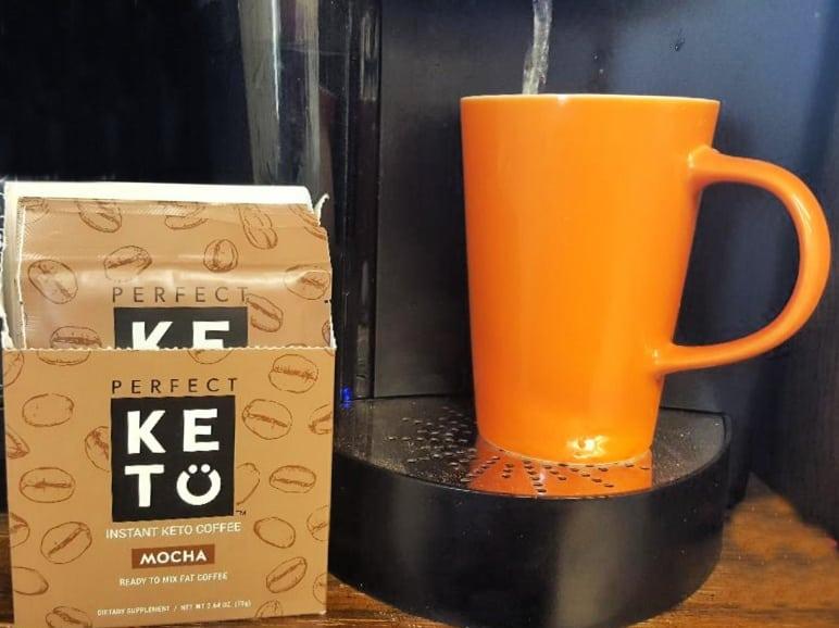 perfect keto coffee