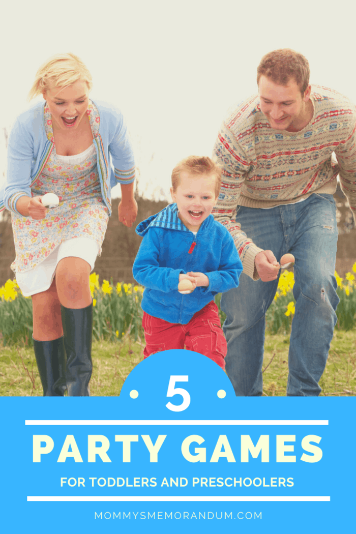 The egg and spoon race This is one of the most epic games that you can have at your kid's party. It is both exciting and challenging. And a good challenge is great every once in a while.
