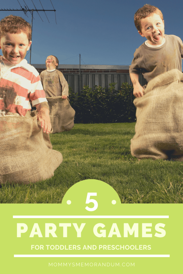 Another very fun game is the sack race.