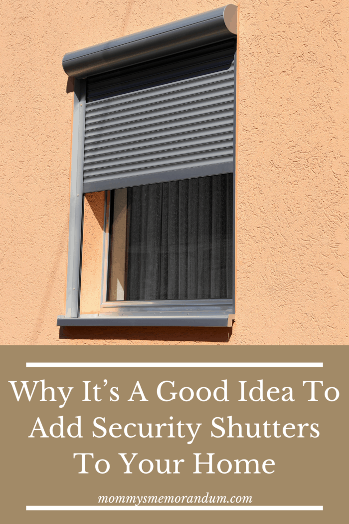 Why you should consider roller shutters as part of your home security system