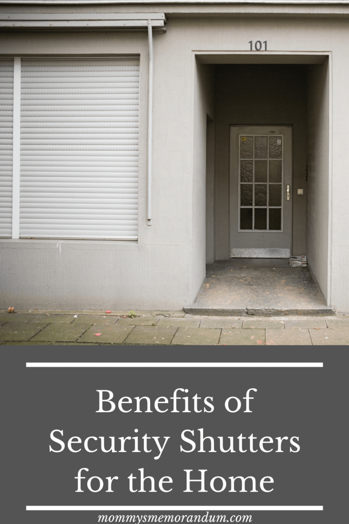 there are benefits to adding shutters for security to your home.