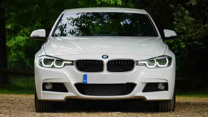 white bmw for car leasing