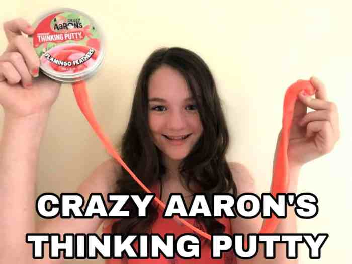 crazy aaron's thinking putty review copy