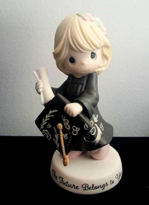 precious moments graduation figurine girl