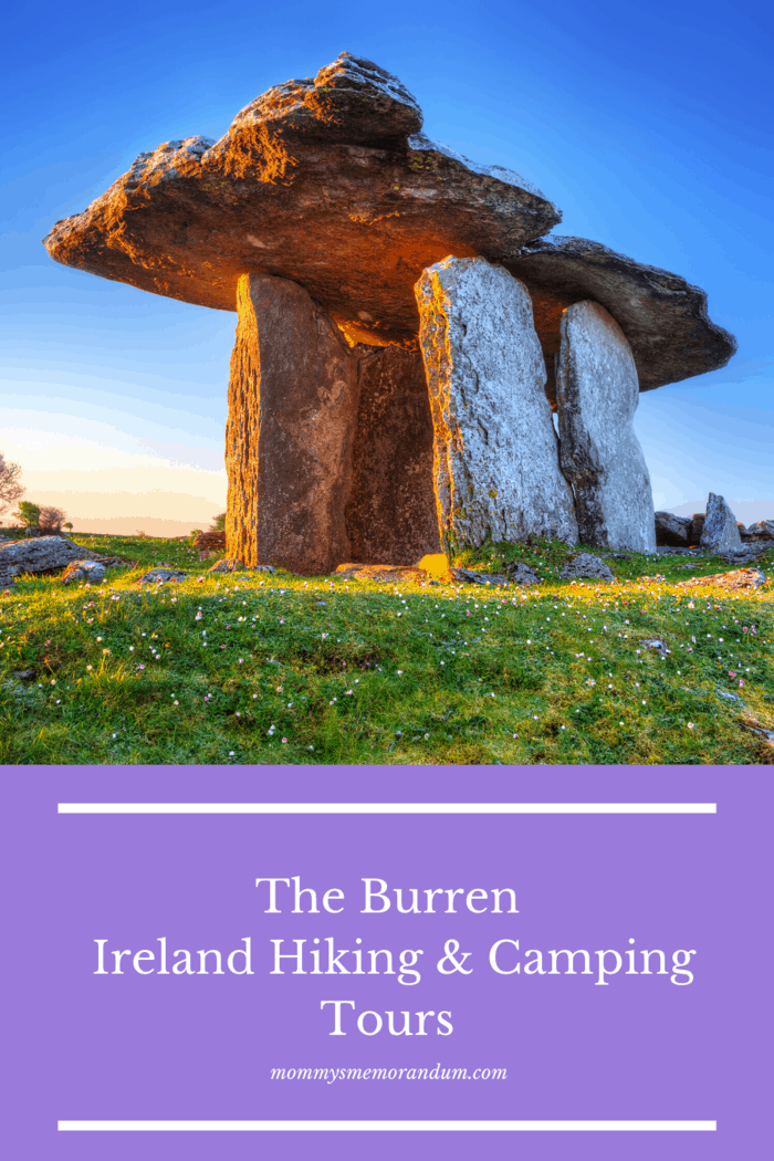 The three-day trip starting from Kinvara takes you through the amazing Karst Limestone Burren landscape.