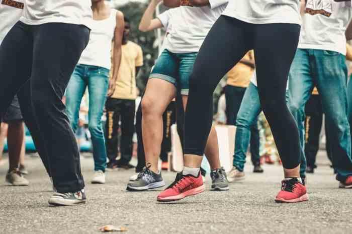 dancing makes exercise fun
