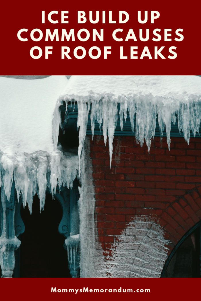 The weight of the ice dump alone has the potential of damaging the roof.